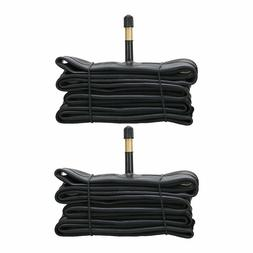 2 PACK Road bike Inner Tube 700C*28C 48MM Long Presta Valve