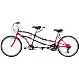 2 Seater Bicycle Two Person Tandem Bike  Double Seat Red or