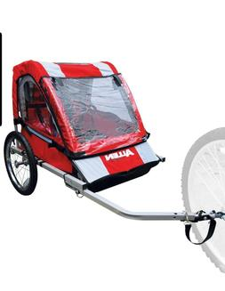 Allen Sports Steel Bicycle Trailer, Safe Lightweight Comfort