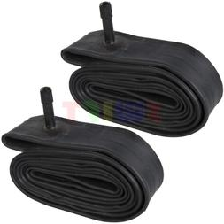 "2 x 20"" inch Bike Inner Tube 20 x 1.75 - 2.125 Bicycle Rubbe"
