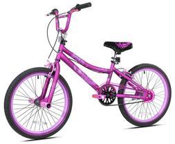 """Kent 20"""" 2 Cool BMX Girl's Bike Steel Frame w/ Kickstand Dua"""