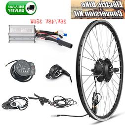 "20""/26""/700C 350W Electric Bicycle Conversion Kit 36/48V E-B"