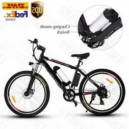 20'' 26'' EBike  Electric Bike Folding Mountain Bicycle 36V