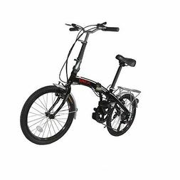 "Xspec 20"" 7 Speed City Folding Compact Bike Bicycle Urban Co"