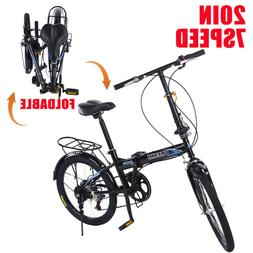 20 7 speed city folding compact suspension
