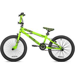 "20"" Chaos Boys' BMX Bike Neon Green"