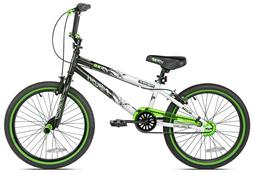 """Kent 20"""" Ambush BMX Kids Boy's Bike Bicycle Green Ages 8-12"""