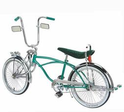 """20"""" Lowrider Bike  with 72 spokes Black Blue Red Green Chrom"""