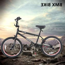 "20"" BMX Bike Handlebar Spin Antiskid Tire Single Speed Bicyc"
