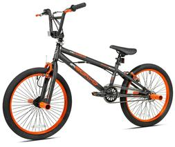 "Kent 20"" Chaos Boy's Bike, Matte Gray/Orange"