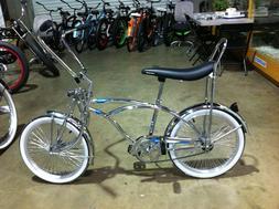 "20"" Chrome Lowrider Bike 68 Spokes Coaster Brake New!"
