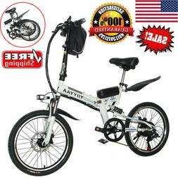 20''Foldable E-Bike City Bicycle 36V350W Motor Lithium Batte