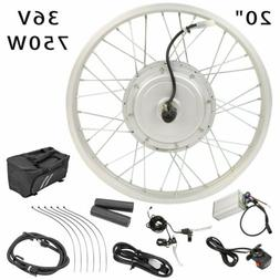 "20"" Front Tire Electric Bicycle e-Bike Conversion Kit Cyclin"