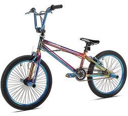 20 in. Kent Fantasy BMX Pro Bike Freestyle Bicycle Steel Fra