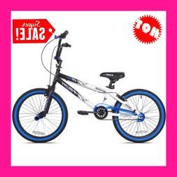 20 Inch Bike Boys Adjustable Seat Ambush Tires Pedals Racing