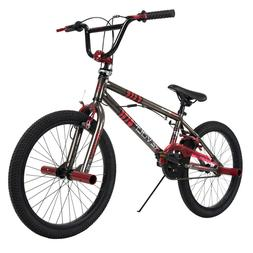 Huffy BMX Boy's Bike 20-inch Revolt, Red and Black NEW