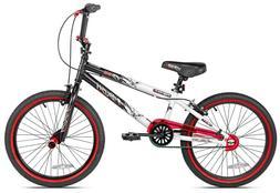 "Kent 20"" Kids Boys Ambush BMX Bike Bicycle Black & Red Ages"