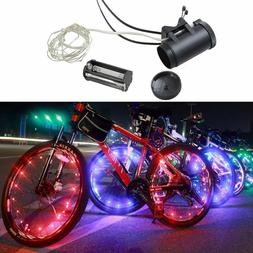 20 LED Bicycle Accessories Bike Wheel Rim Light AA Battery S