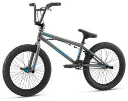 "Mongoose 20"" Legion L20 BMX Freestyle Bike-Grey"