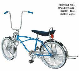 """20"""" Lowrider Bike Bicycle Bent fork 144 spokes wheels coaste"""