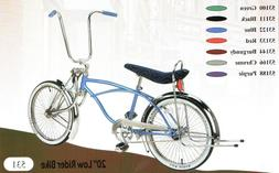 "Lowrider Knock Off 3-Bars 3//8/"" Axle 24T Chrome Bikes"