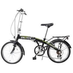 """Stowabike 20"""" Pro Alloy Folding Compact City Road Bike 6 Spe"""