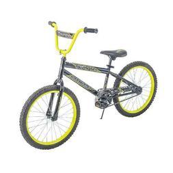"20"" Rock It Boys' Bike, Metallic Dark Grey Steel Bicycle W/"