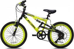 "20"" Savage Boy's Mountain Bike Lightweight Padded Seat Alloy"