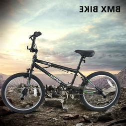"20"" Single Speed Bicycles Freestyle Boys BMX Bike Handlebar"