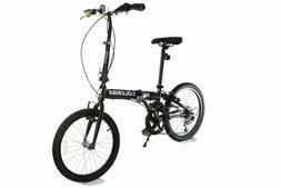 "Columba 20"" Steel Folding Bike Fold Storage School Sports"