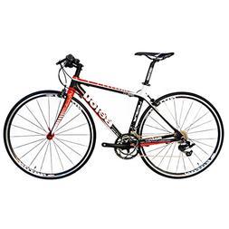 BEIOU 2016 Carbon Comfortable Bicycles 700C Road Bike LTWOO