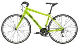 2018 Cannondale Quick 4 Hybrid Bicycle Small Acid Green Reta