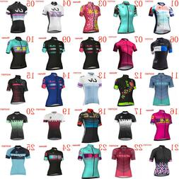 2018 New womens cycling jersey bike clothes short sleeve MTB