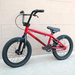 "2019 SUNDAY BMX BIKE BLUEPRINT 16"" BICYCLE RED FIT CULT SUBR"