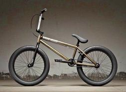"2019 Kink Curb 20"" BMX Bike Gloss Nickel Complete BMX Bicycl"