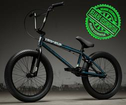 "2019 Kink Curb 20"" Complete BMX Bike 20""TT Gloss Smoked Stan"