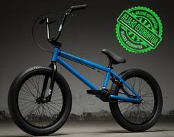 "2019 Kink Curb 20"" Complete BMX Bike 20""TT Matte Aquatic Blu"