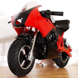 2019 Gas powered Mini Pocket rocket Bike small motorcycle fo