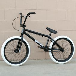 "2020 SUNDAY BIKE BMX BLUEPRINT 20"" BICYCLE BLACK w/ WHITE 20"