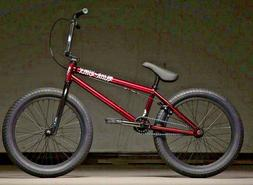 "2020 Kink Curb  20"" Complete BMX Bicycle 20"" Top Tube"