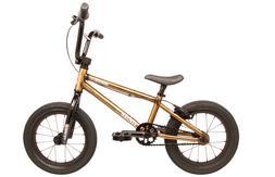 "2020 FIT BIKE CO MISFIT 14 TRANS GOLD 14""  COMPLETE BMX BIKE"