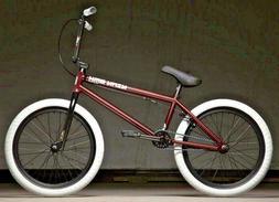 "2020 Kink Gap XL Matte Trans Maroon  20"" Complete BMX Bicycl"