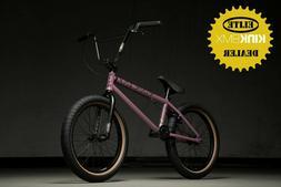 2020 KINK LAUNCH COMPLETE BMX BICYCLE - BMX BIKE - DUSK LILA