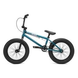 "Kink 2021 Carve 16"" Complete BMX Bike - Gloss Digital Teal"