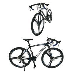 Road Bike Shimano 21 Speed Bicycle 700C Superior Mens Bikes