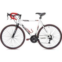 """KENT 22.5"""" GMC Denali 700cc Men's Bike, White/Red"""