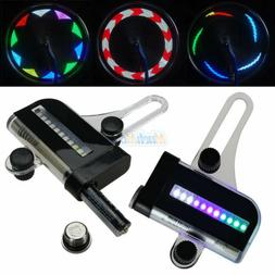 22 LED Motorcycle Cycling Bicycle Bike Wheel Signal Tire Spo