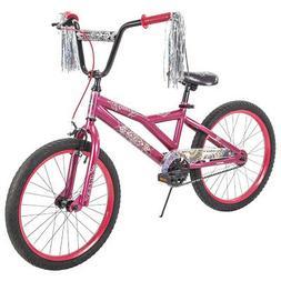 "Huffy 23079 - 20"" Glitzy Kid Bike with Streamers & Kickstand"