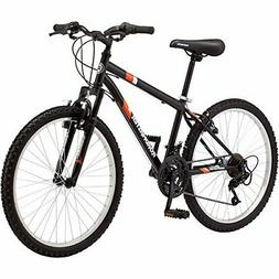 "24"" Roadmaster Granite Peak Boys Mountain Bike , Black)"