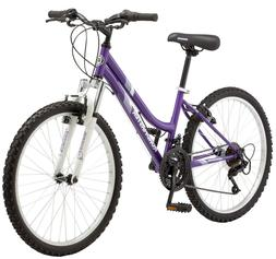 "Roadmaster Granite Peak Girls Mountain Bike 24"" Wheels Bicyc"
